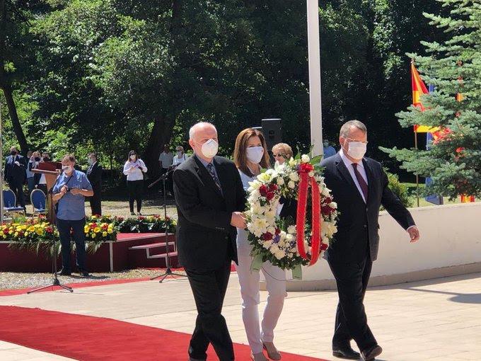 САД го честитаа празникот Илинден