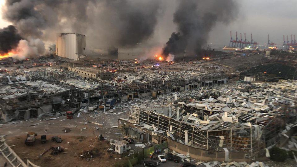 Шокантна снимка од Бејрут се шири на социјалните мрежи (ВИДЕО)