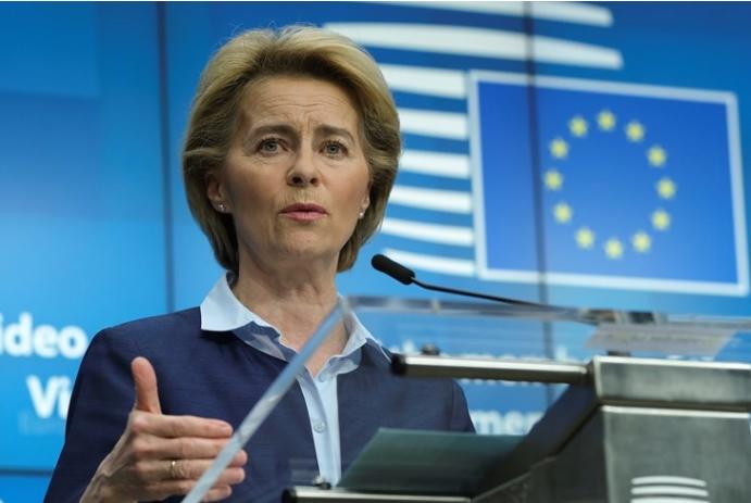 Фон дер Лејен ги повика САД да ја укинат забраната за влез на граѓани на ЕУ во земјата