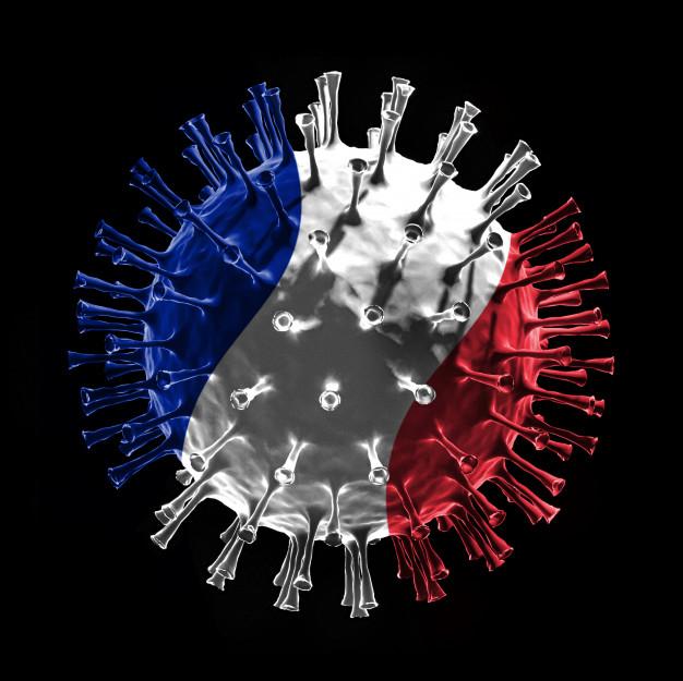 Франција со речиси 10.000 новозаразени за еден ден