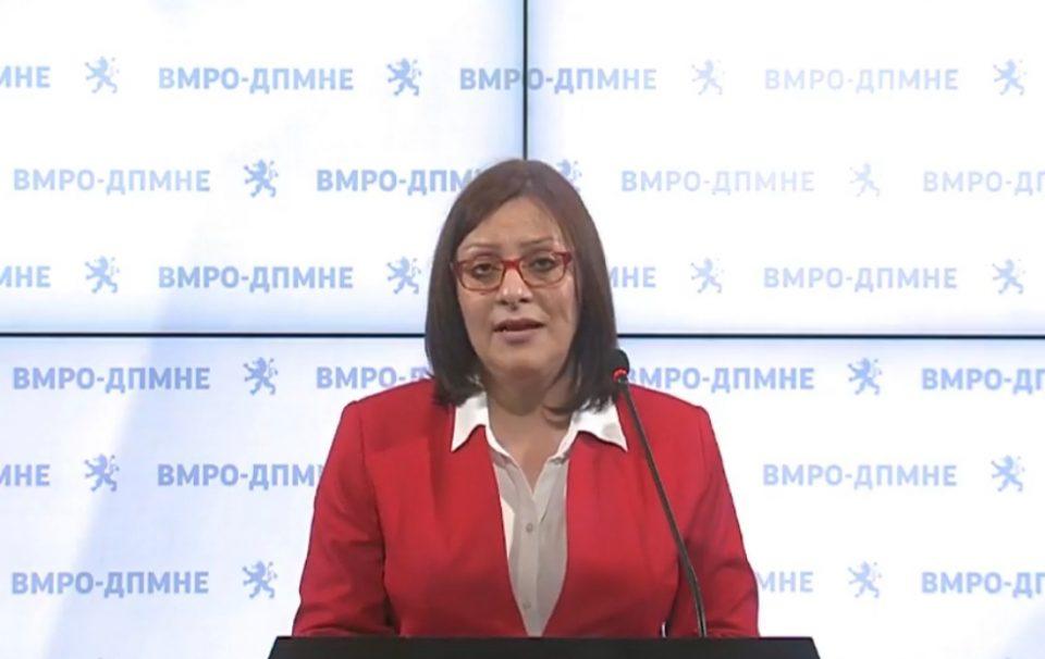Димитриеска-Кочоска: Втор ТАТ, пропаѓањето на Еуро Стандард банка претставува уште еден голем неуспех на актуелната власт