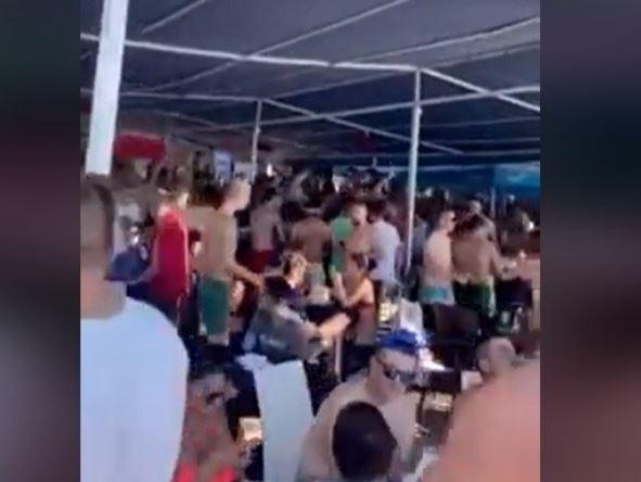 """ВИДЕО: Станува ли Охрид """"македонски Вухан"""" – Луда забава на Градиште без дистанца"""