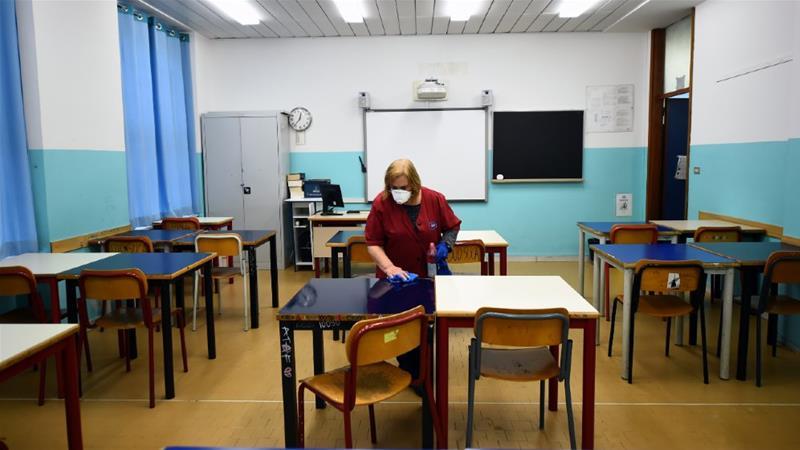 """Италија се подготвува за почеток на учебната година: """"Мораме да ги отвориме училиштата"""""""