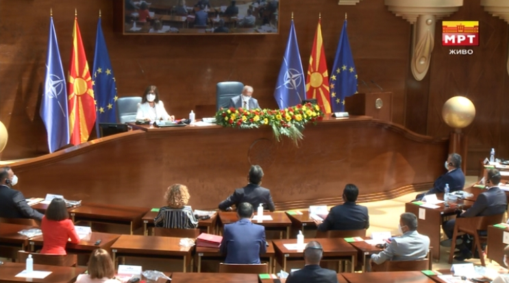 Пoчна седница за конституирање на Собранието, се одвива под посебни здравствени протоколи