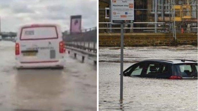Бура ја погоди Велика Британија: Лондон пливаше во вода