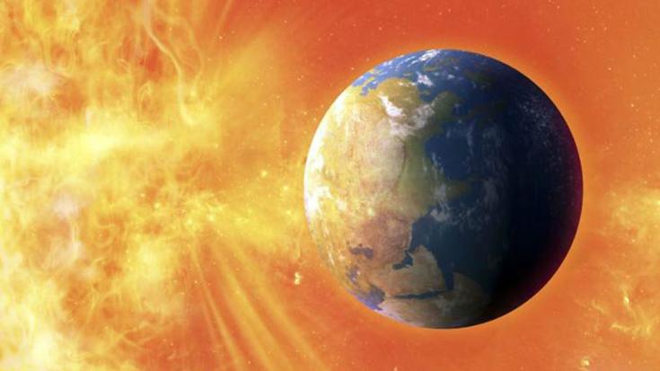 На Земјата ѝ се случува магнетна бура