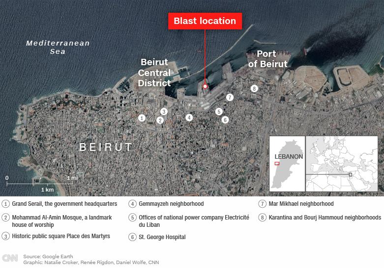 ФОТО: Светот му нуди помош на Бејрут, градот уништен како после војна