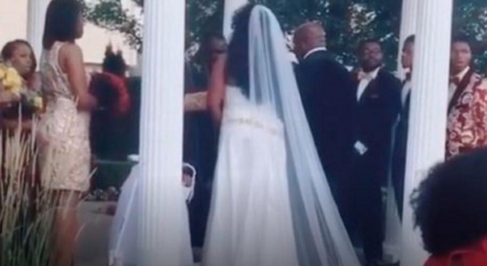 ТАА се појави на туѓа свадба и направи хаос: На младоженецот му соопшти дека е бремена (ВИДЕО)