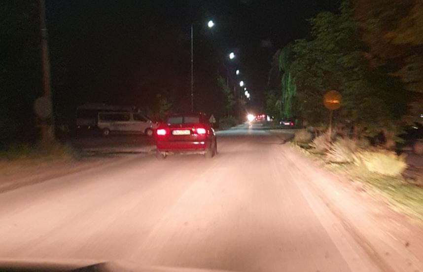 ВИДЕО: Избегнати три сообраќајки – возач вози во спротивен правец пред Свети Николе