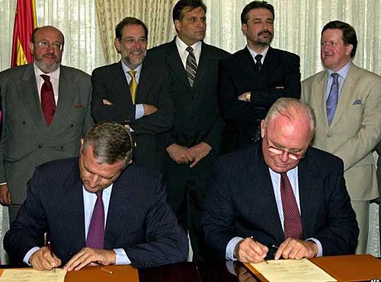 Деветнаесет години Охридски рамковен договор