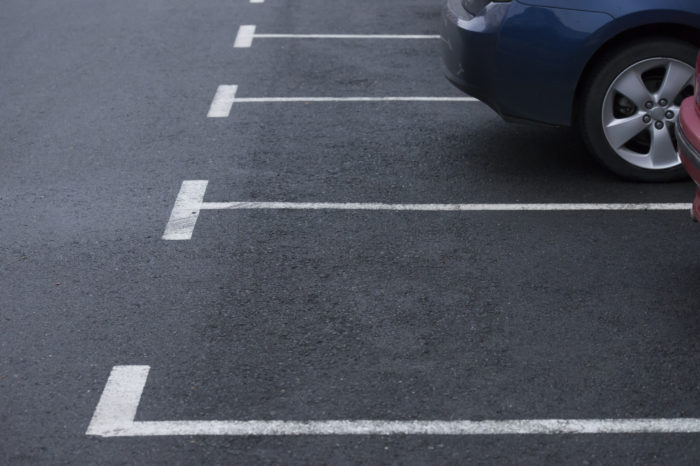 Тепачка за паркинг место во Велес
