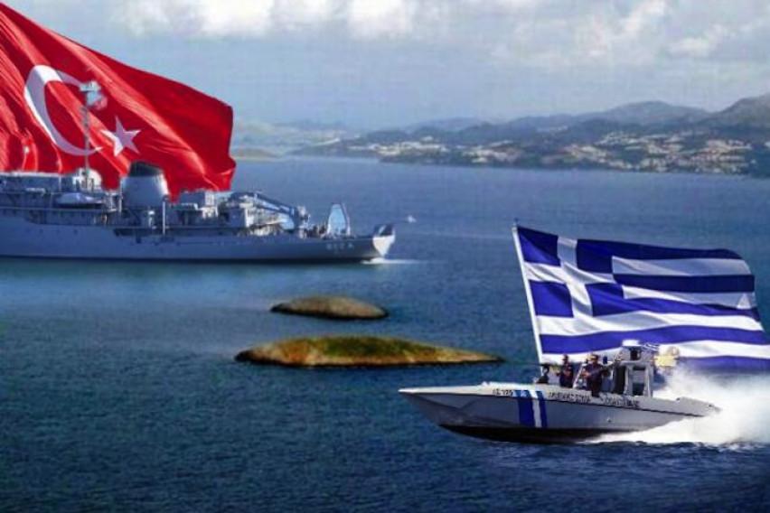 Во спорот помеѓу Турција и Грција на Медитеранот се вмеша уште една држава – се зголемува воената присутност