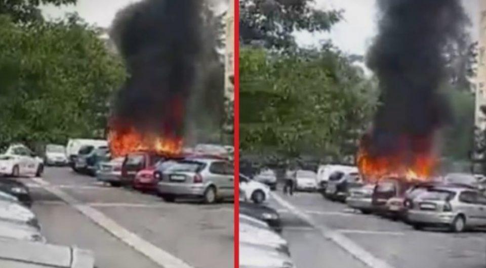 Расветлен е случајот со опожарените возила во Ново Лисиче