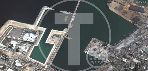 ФОТО: Објавени сателитски снимки пред и по експлозијата во Бејрут