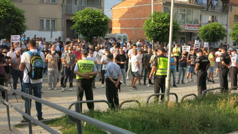 Протест во Гостивар: Немаме ни за леб и вода, а не пак струја да платиме