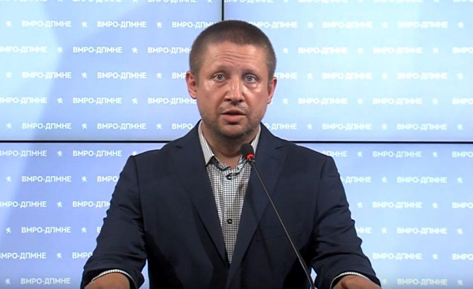 Стојаноски: ВМРО-ДПМНЕ ги поддржа измените со кои се овозможува увоз на вакцини и други медицински средства за справување со коронавирусот