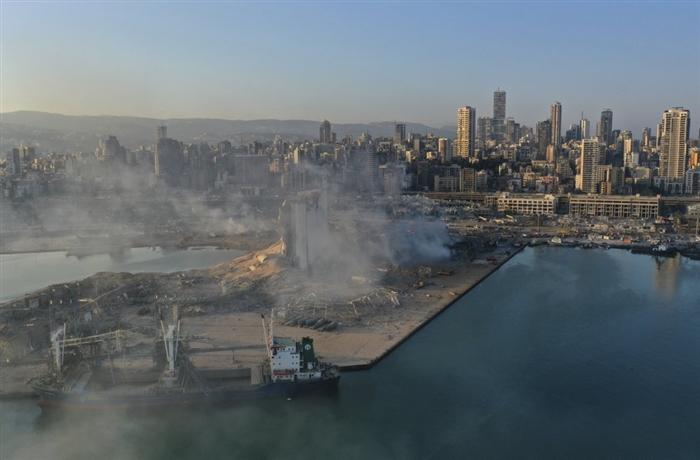 Фотографијата од Бејрут која го потресе светот