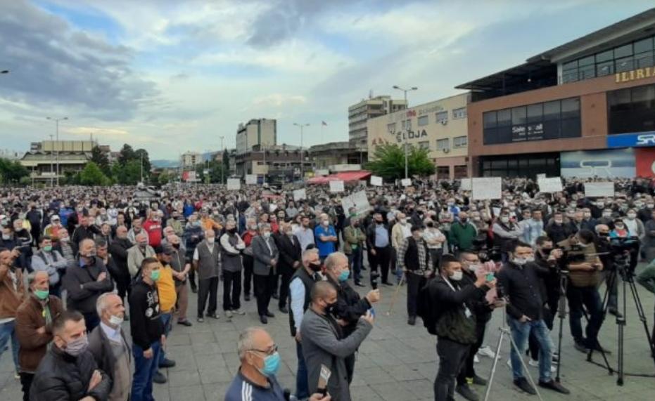 Од утре почнуваат протести во шест македонски градови
