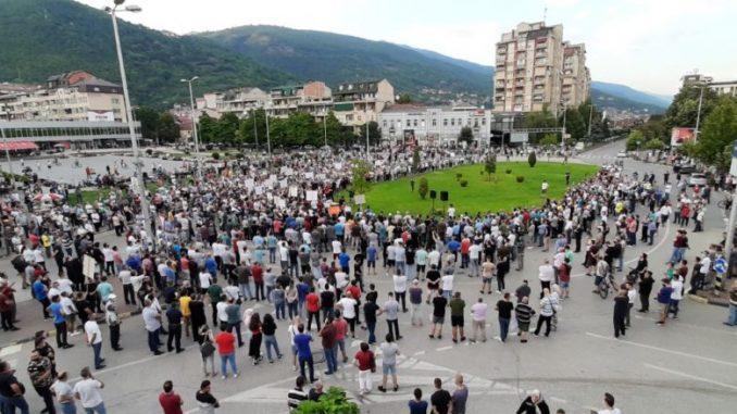 Во Тетово протест против поскапувањето на струјата: Регулаторна веднаш да ја став вон сила одлуката за зголемување на цената