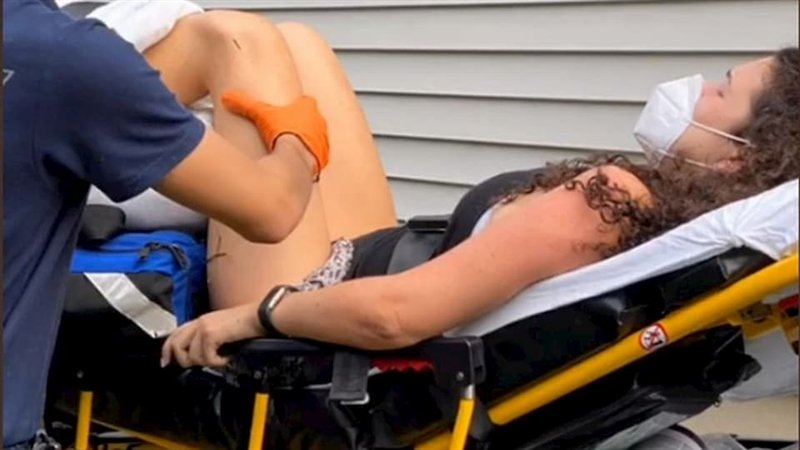 Видео: Девојка изведувала кореографија на Тик Ток па завршила во болница