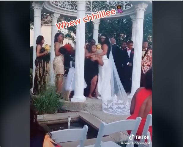 """Трудница влетала сред венчавка и го разоткрила младоженецот: """"Чекам дете од тебе"""" (ВИДЕО)"""