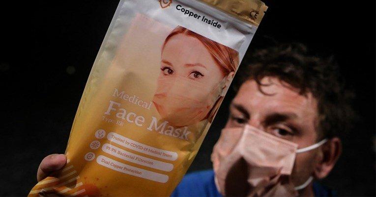 Се појавија бакарни маски што убиваат вируси