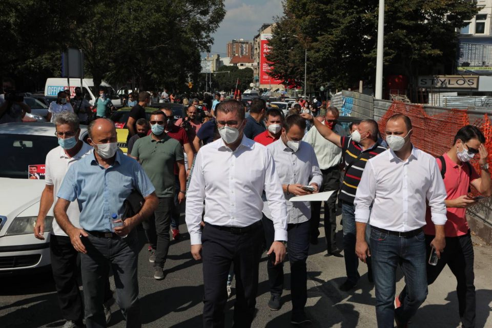 Мицкоски: Ќе протестираме додека не ја симнеме мафијата од власт