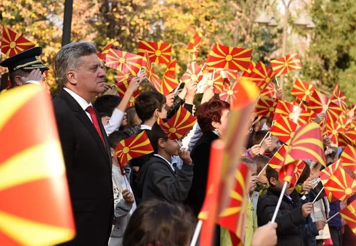 Поранешниот претседател Иванов: Си била и ќе бидеш Македонија!