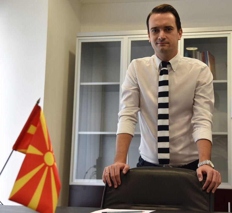 Владимир Нелоски доби висока функција во ВМРО-ДПМНЕ