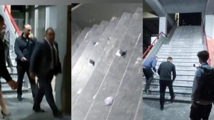 Синоќа во Тетово грст пари беа фрлени кон претседателот на РКЕ, Бислимоски (ВИДЕО)