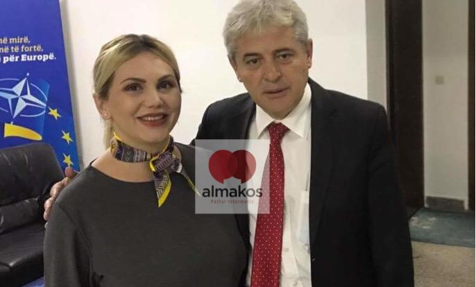 Активистка на ДУИ предупредува на протести против партијата на Али Ахмети