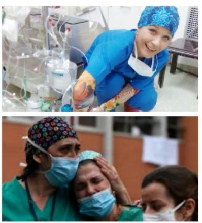 """""""Почивај во мир мила"""" – Емотивно писмо за здравствената работничка од Охрид која ја изгуби битката со Ковид-19"""