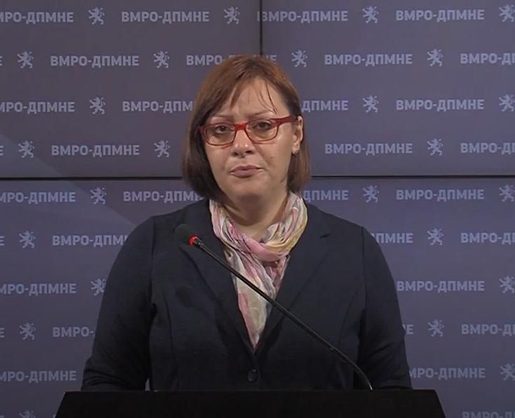 Димитриеска Кочоска: Третиот пакет на мерки се реализираше само 13%, затоа е потребен 4 пакет, кој е резултат на претходната неспособност и расипништво