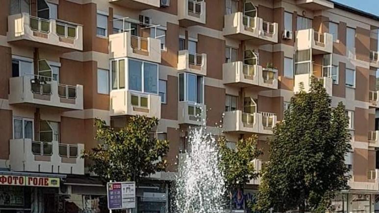 Несекојдневно утро за струмичани- чуден феномен се случува во фонтаната долж булеварот во центарот на градот (ФОТО)