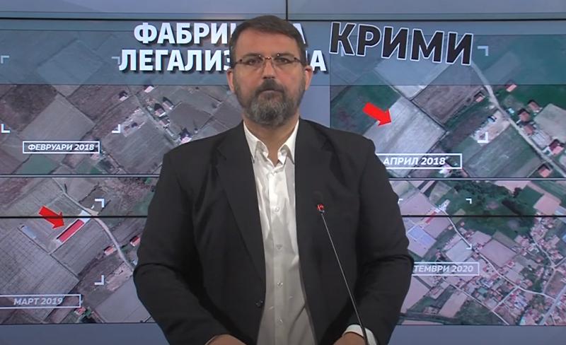 """Стоилковски: """"Фабриката за крими-легализација"""" фатена во криминал тоне во лаги, ЈО да отвори истрага"""
