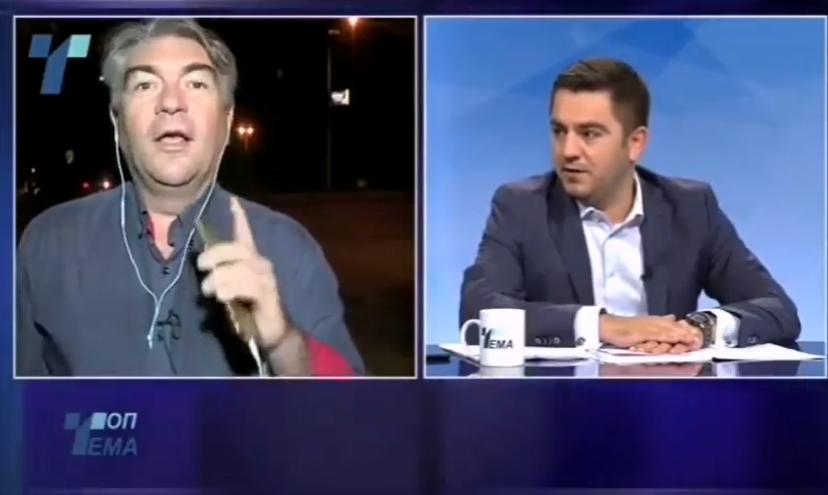 """(Видео) """"Шaмapeње"""" во живо на национална телевизија, Бектеши и ДУИ со наведната глава"""
