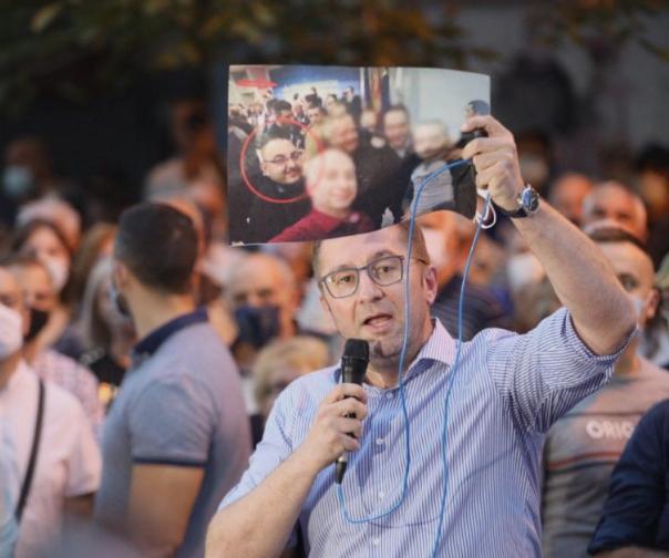 Мицкоски: Бараме поевтина струја, мафијата не смее да се богати на грбот на народот