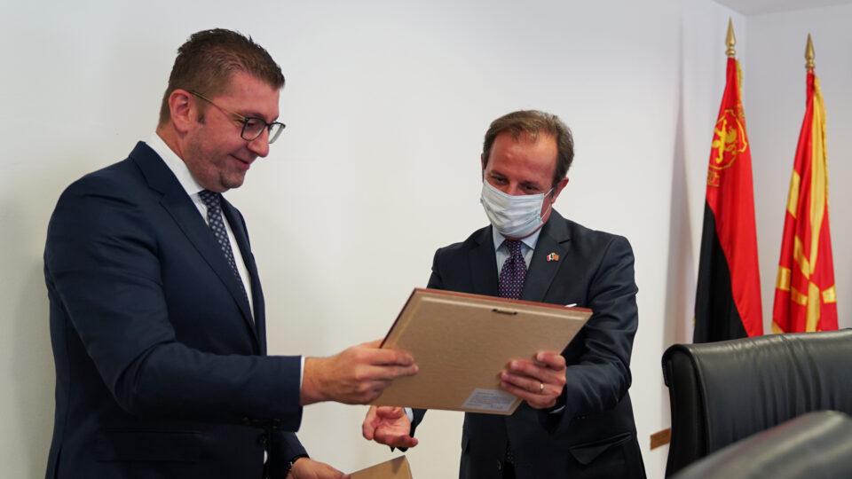 Мицкоски до Ромео: Поради неспобноста на власта, Република Македонија нема никаков напредок
