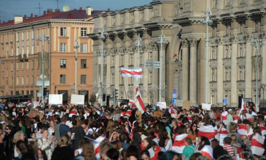 На протестите во Белорусија уапсени 774 демонстранти