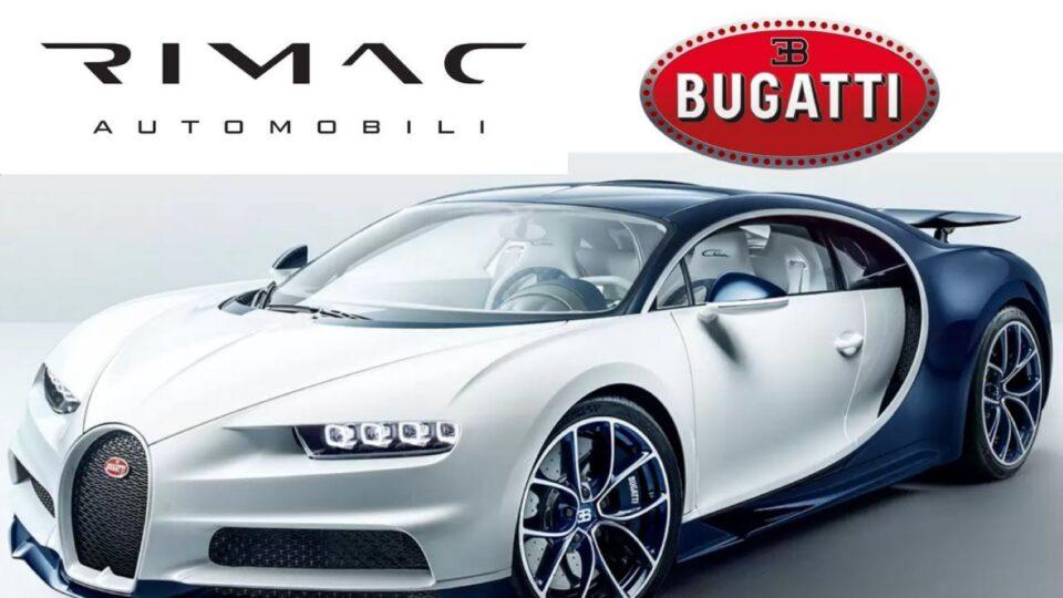 Rimac го презема Bugatti?!
