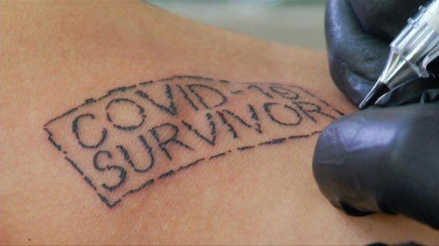 """(видео) Тетоважа """" Преживеан од Ковид-19 """""""