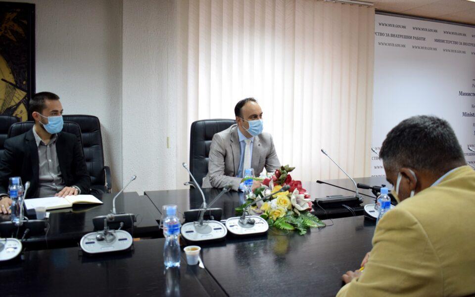 Чулев на работна средба со претставници на ромските невладини организации- соработката меѓу нив и МВР треба да се регулира со меморандум