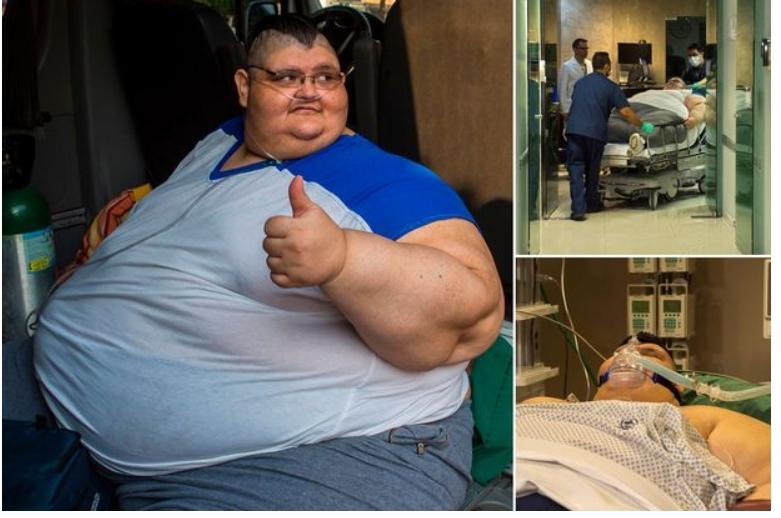Најдебелиот човек на светот го победи коронавирусот (ФОТО)