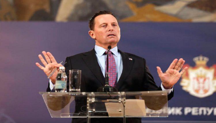 Гренел: Не е вистина дека од Вучиќ се побара да го признае Косово