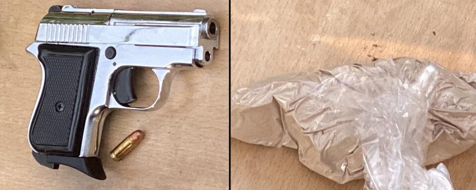 Претреси во Синѓелиќ, пронајден пиштол и хероин – Едно лице е приведено