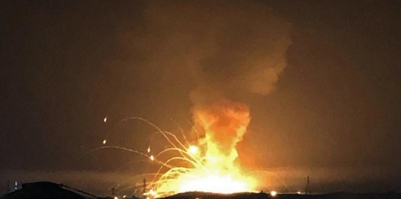 (Видео) Експлозија во американска воена база во Јордан