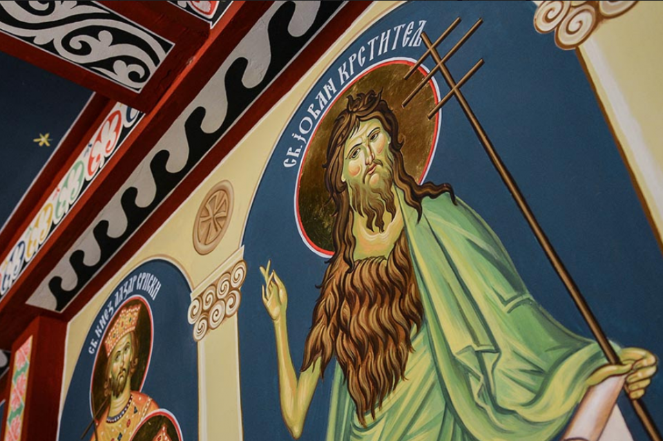 УТРЕ Е ГОЛЕМ И ТЕЖОК ПРАЗНИК- се одбележува отсекувањето на главата на Св. Јован Крстител, воздржете се од овие работи