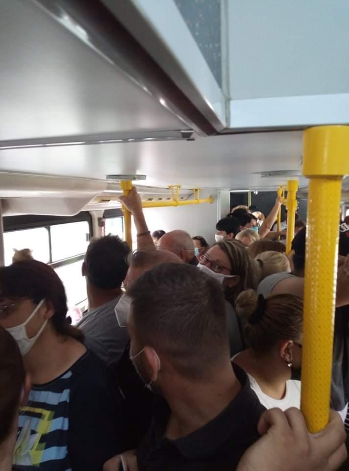 Нелоски: Градот нема никаква контрола во автобусите и граѓаните се оставени сами на себе