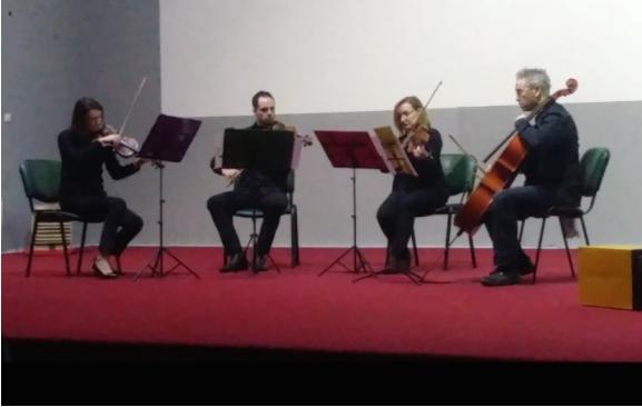 """Концерт на гудачкиот квартет """"Вива Стрингс"""" во Кичево"""
