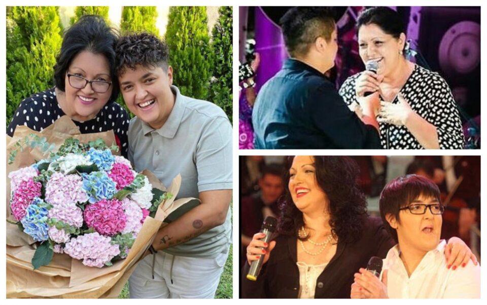 Уникатен букет за омилената пејачка: Марија Шерифовиќ со емотивна честитка за роденденот на мама Верица